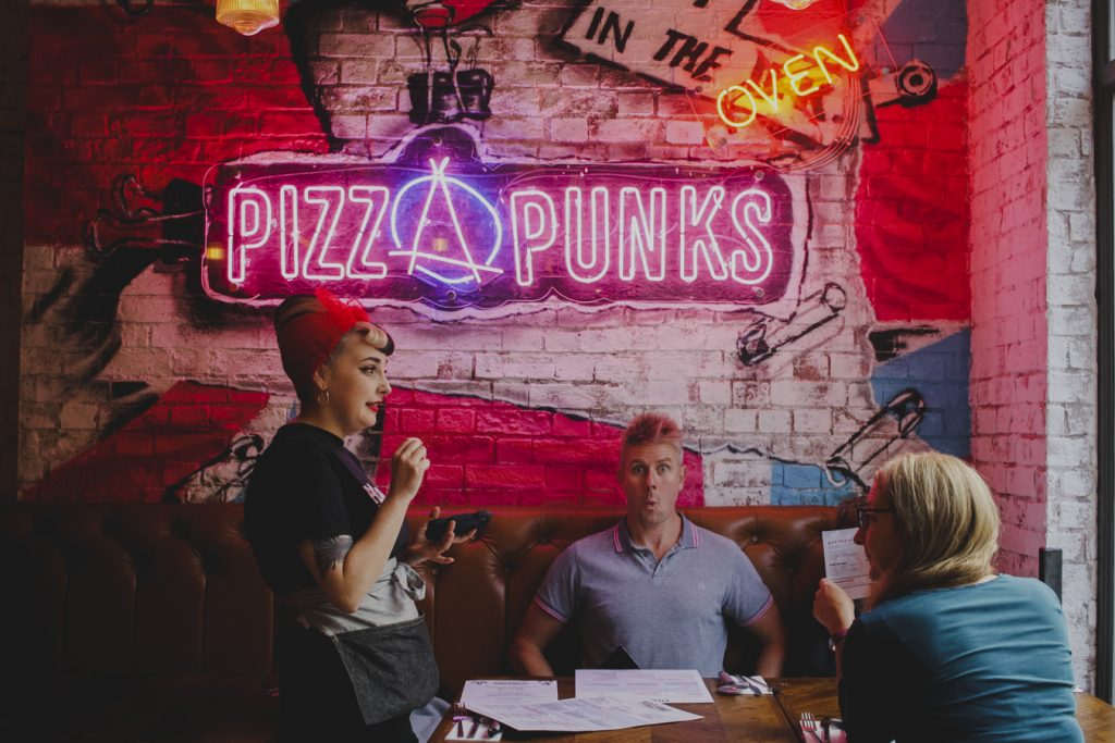 Pizza Punks Newcastle Review Feeding Boys A Firefighter