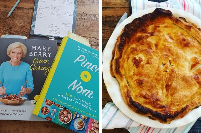 mary berry and pinch of nom and pie